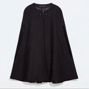 Zara Black Cape - S